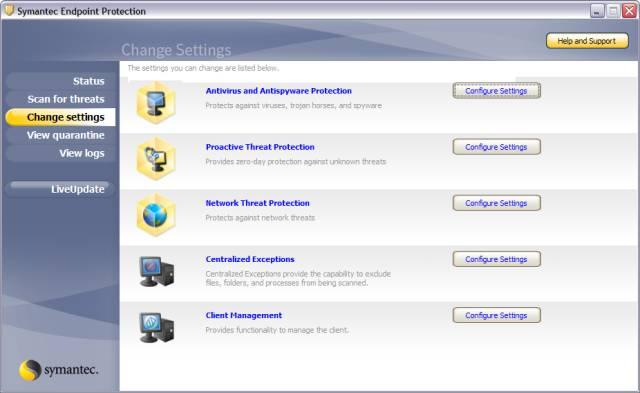 Часть 1. Symantec Endpoint Protection Client (Клиентский модуль) .