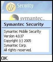 Symantec Mobile Security 4.0 for Symbian
